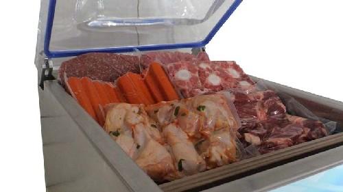 embaladora de alimentos a vácuo