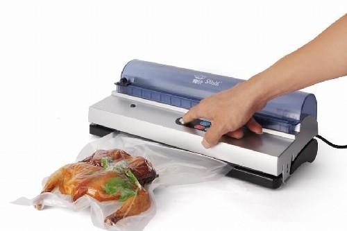 Maquina de embalagem a vácuo para alimentos