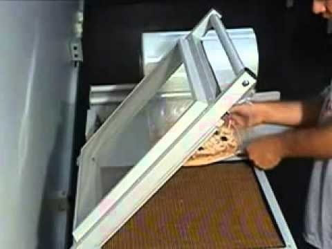 máquina de embalagem para pizza
