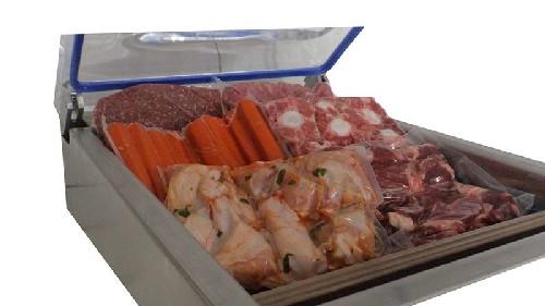 Maquina de embalar carne a vácuo