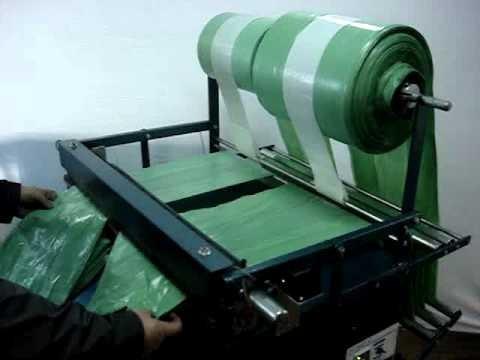 Maquina de sacolas plásticas